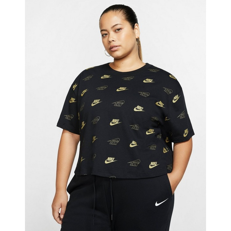 Nike Nike Sportswear Women's Short-Sleeve Crop Top (Plus Size)