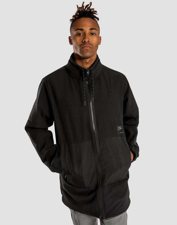 Buy Black Nike Air Max Woven Jacket   JD Sports