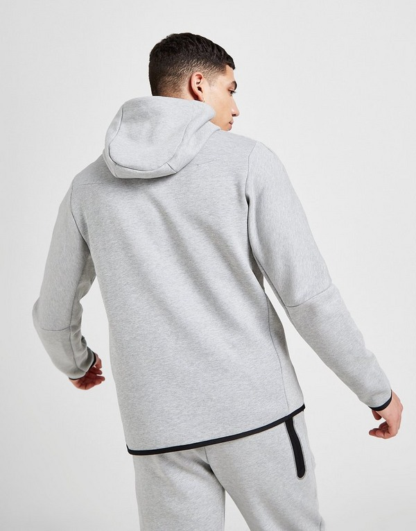 Buy Grey Nike Tech Fleece Full Zip Hoodie
