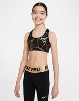 Nike Nike Swoosh Older Kids' (Girls') Reversible Printed Sports Bra
