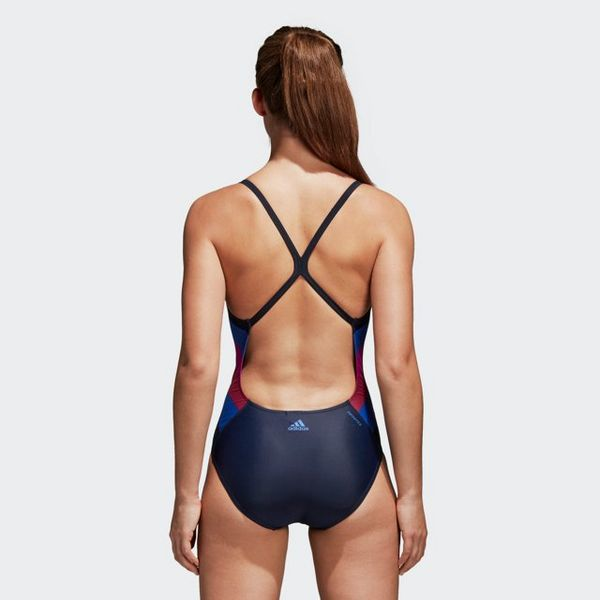 adidas Performance athly light graphic swimsuit