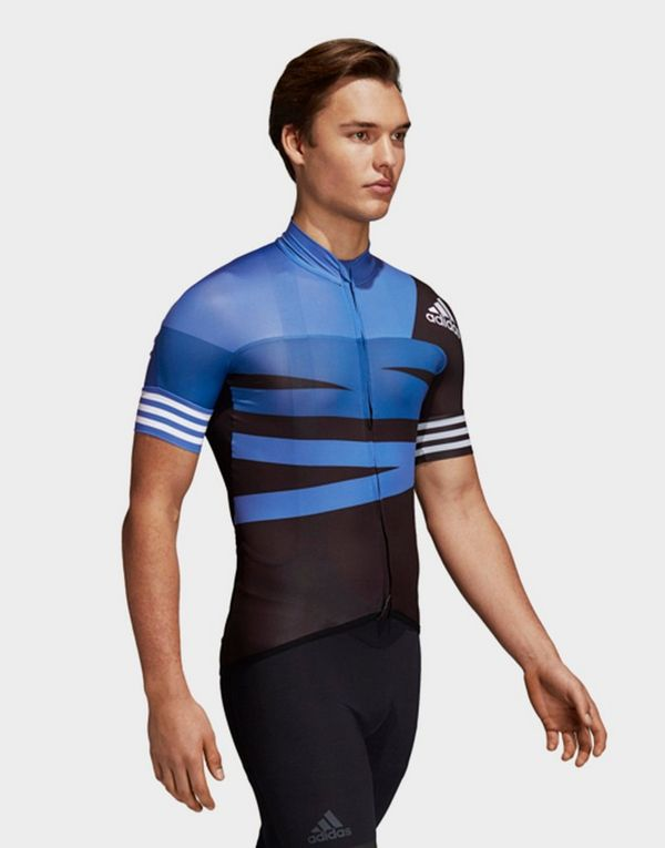 d841433b5b06e adidas Performance adistar Graphic Cycling Jersey   JD Sports