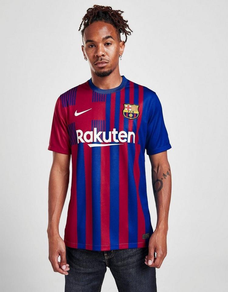 Nike FC Barcelona 2021/22 Stadium Home Soccer Jersey