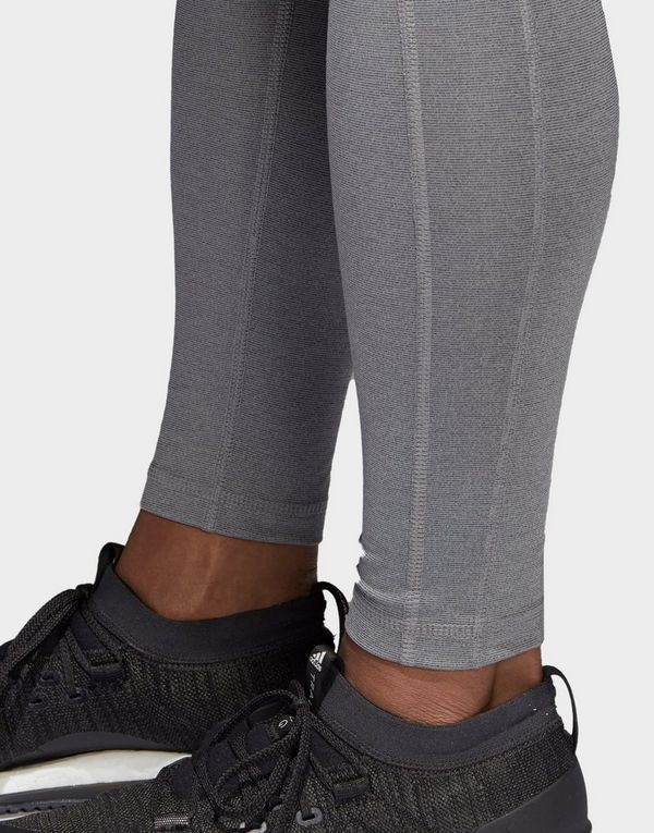 adidas Performance Believe This High Rise Heathered Leggings