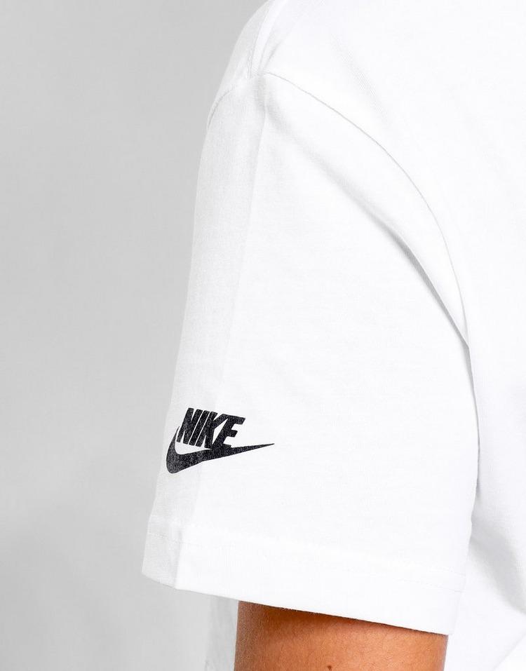 Nike เสื้อครอปผู้หญิง Double Futura Logo Crop T-Shirt
