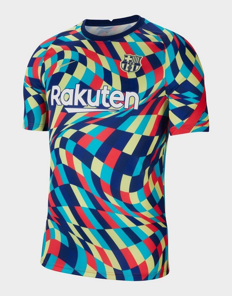 Nike F.C. Barcelona Men's Pre-Match Short-Sleeve Football Top