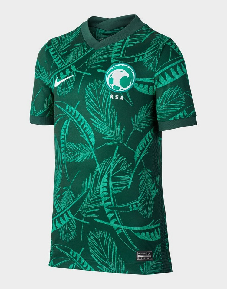 Nike Saudi Arabia 2020 Stadium Away Older Kids' Football Shirt