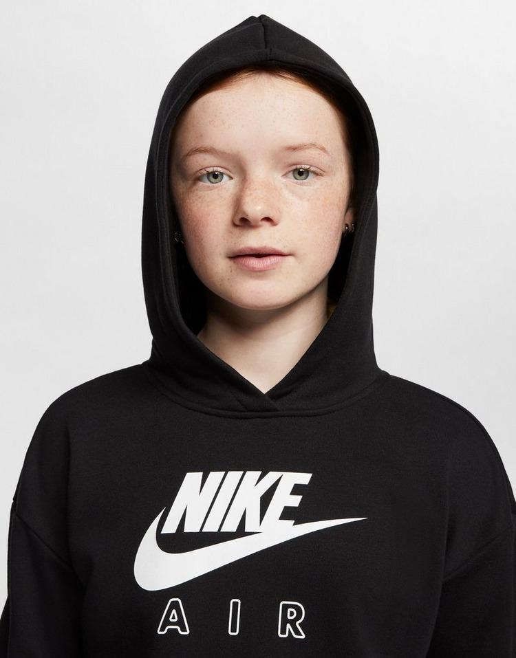 Acheter Black Nike Sweat à capuche court Nike Air pour Fille