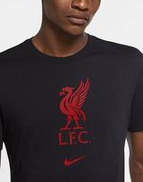 Nike Liverpool FC Crest Short Sleeve T-Shirt