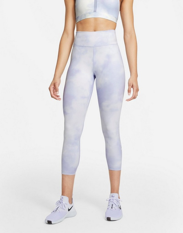 Nike Nike One Icon Clash Women's Mid-Rise Crop Leggings