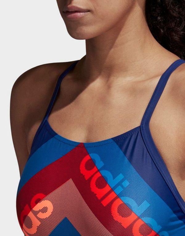 adidas Performance athly light graphic swimsuit