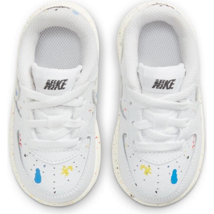Nike รองเท้าเด็กแรกเกิด Air Force 1 '07 LV8 3 Paint Splatter