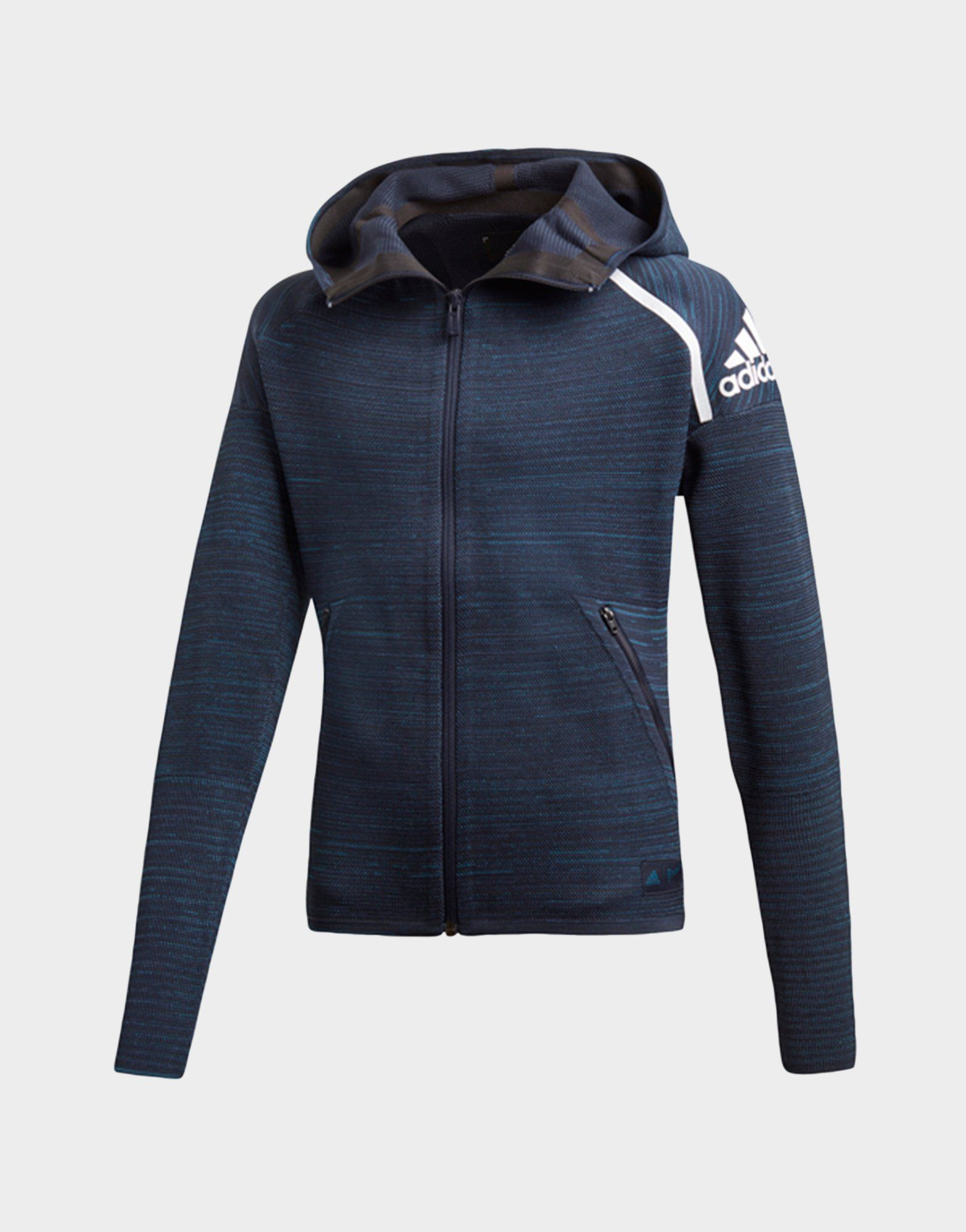 detailed look b70d3 dbbb5 ADIDAS Z.N.E. Parley Hoodie   JD Sports