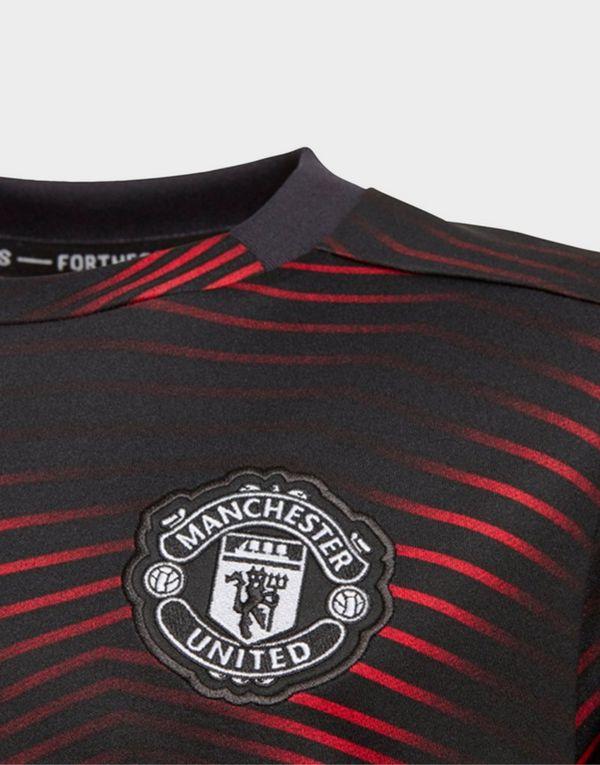 best website 045a8 b3f77 adidas Performance Manchester United Home Pre-Match Jersey ...