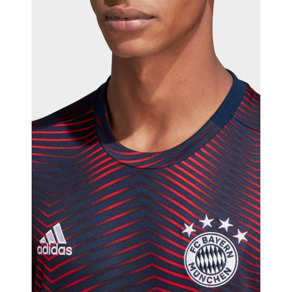 adidas Performance FC Bayern Home Pre-Match Jersey