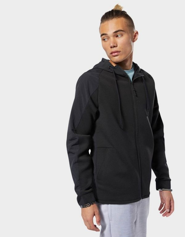 f967995a36 REEBOK Training Supply Full-Zip Hoodie | JD Sports
