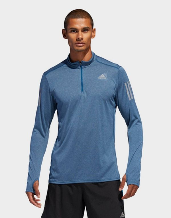 adidas Performance Response 1/2 Zip Long Sleeve Sweatshirt