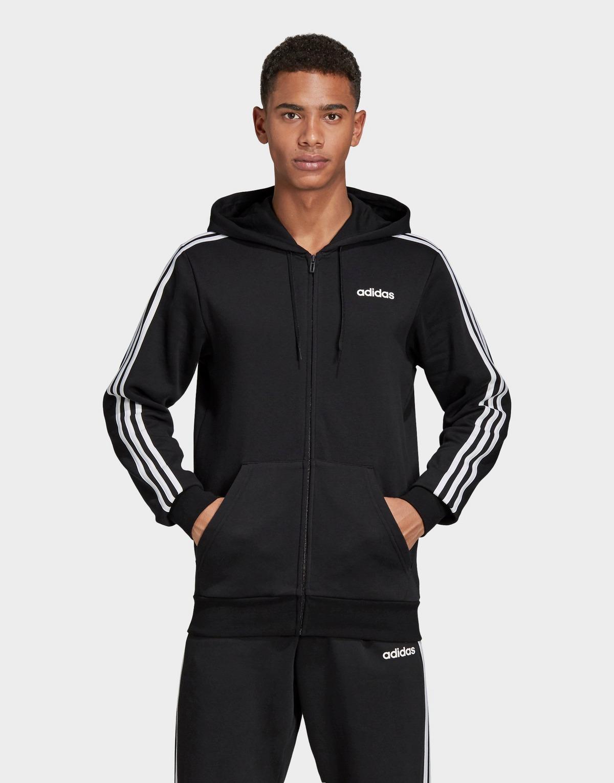 Adidas Performance Essentials 3-stripes Fleece Hoodie