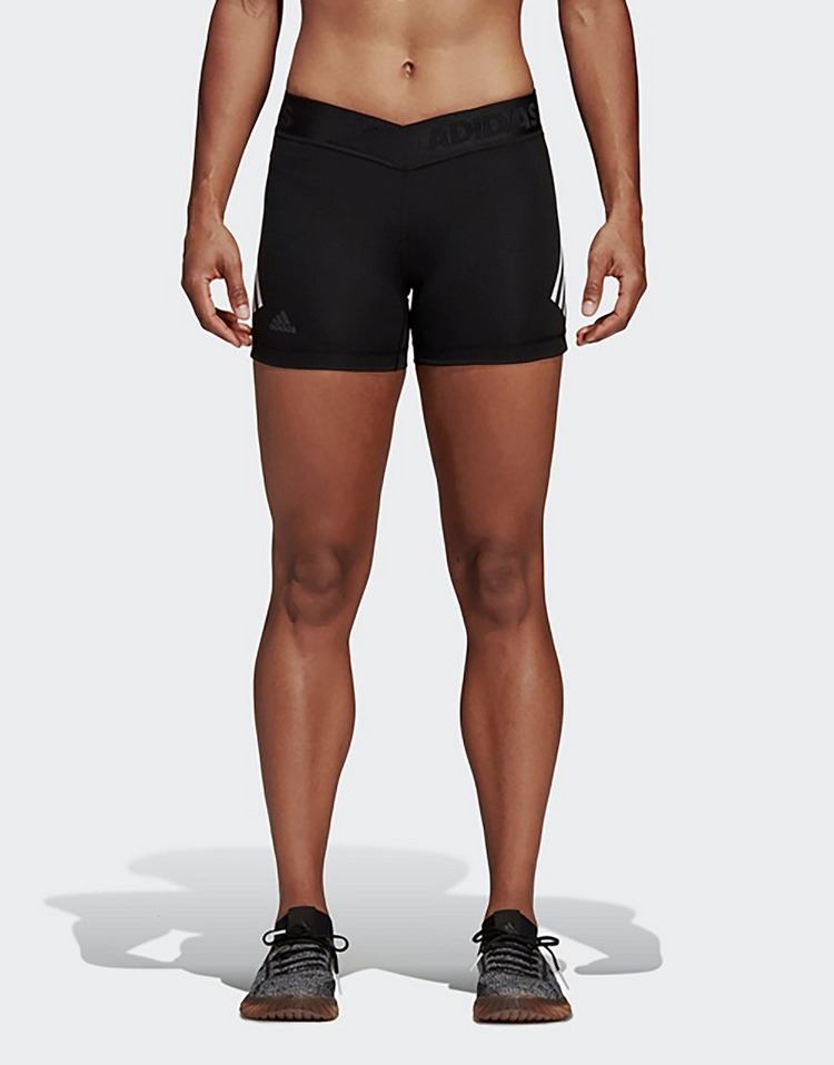 Buy Black adidas Performance Alphaskin Sport 3 Stripes Short