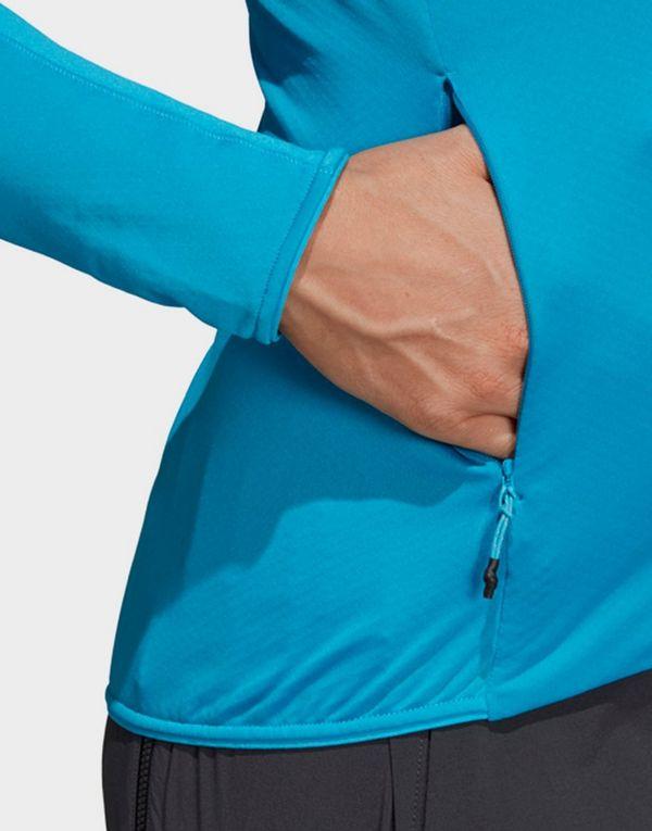 adidas TERREX Trace Rocker Hooded Fleece Jacket