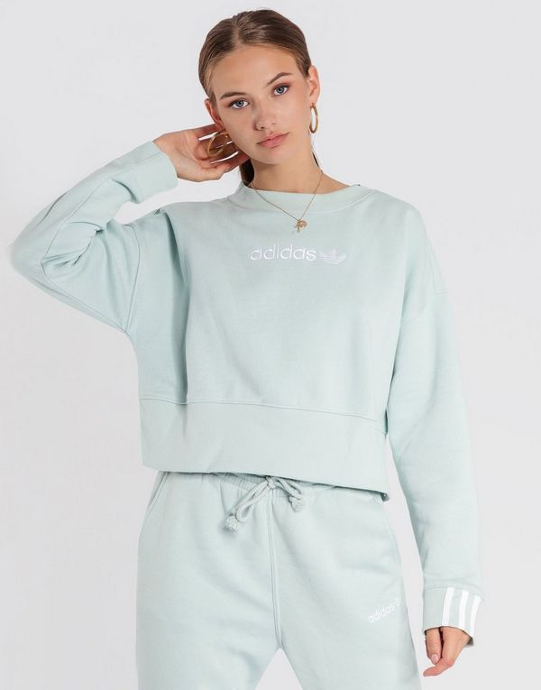 07f800137f adidas Originals Coeeze Cropped Sweatshirt | JD Sports