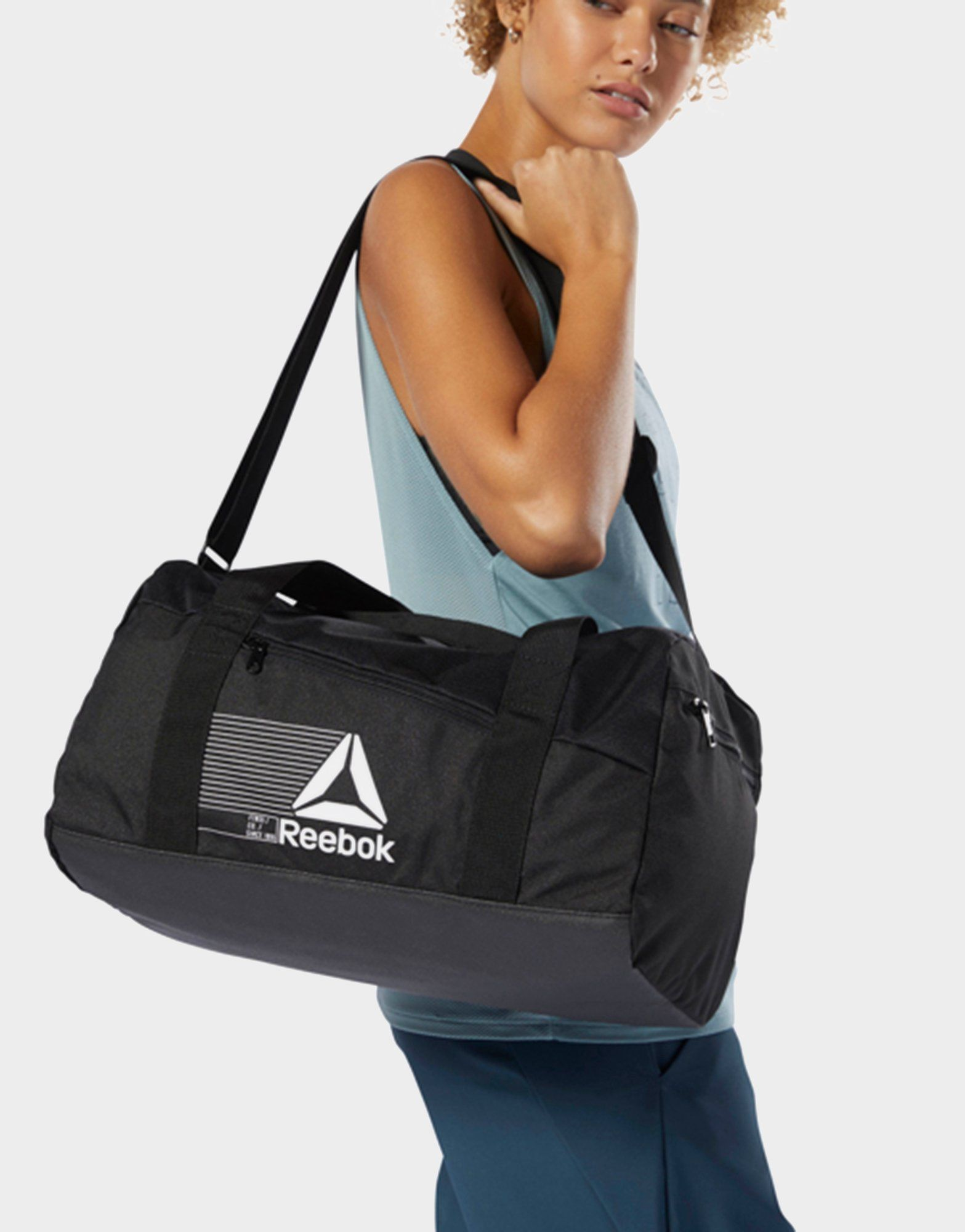 REEBOK Active Foundation Grip Duffel Bag Small