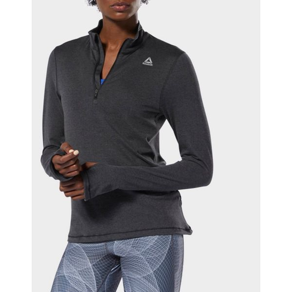 REEBOK Running Essentials Quarter-Zip Top