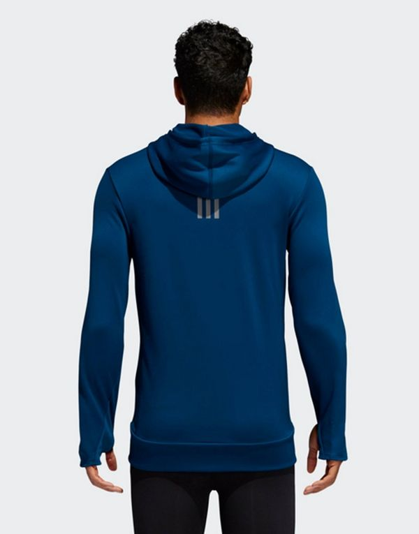 adidas Performance Own the Run Hoodie