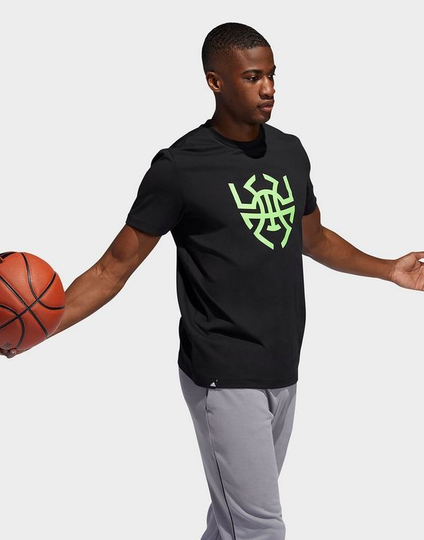 online store 94259 b70a0 adidas Performance Donovan Mitchell Logo T-Shirt | JD Sports