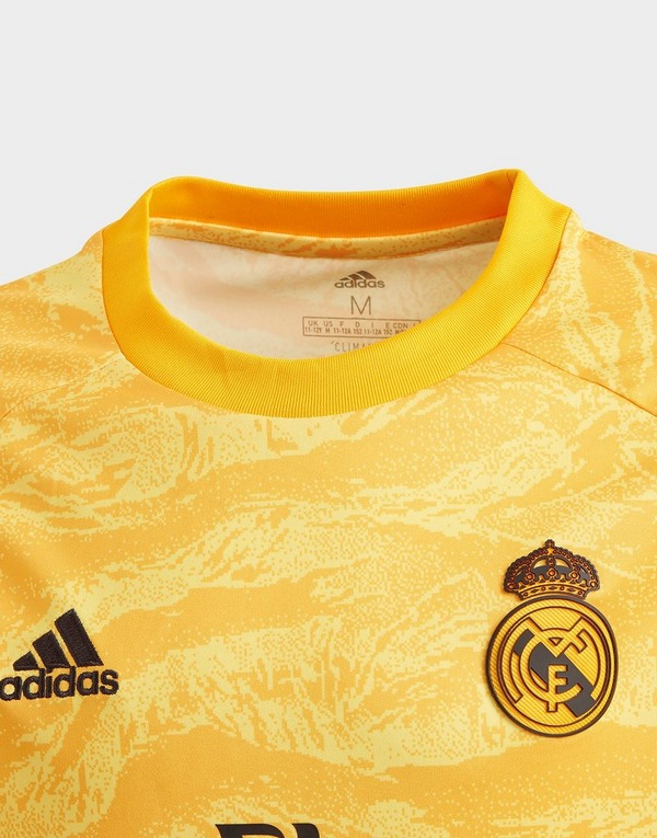 adidas Performance Real Madrid Home Goalkeeper Jersey