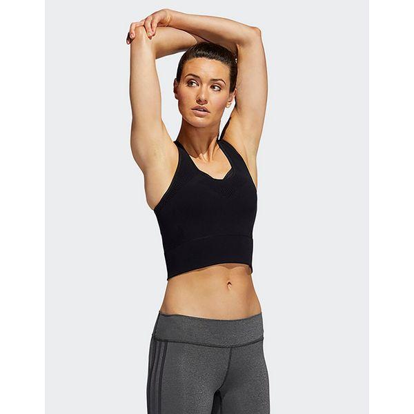 adidas Performance Warp Knit Crop Long-Sleeve Top