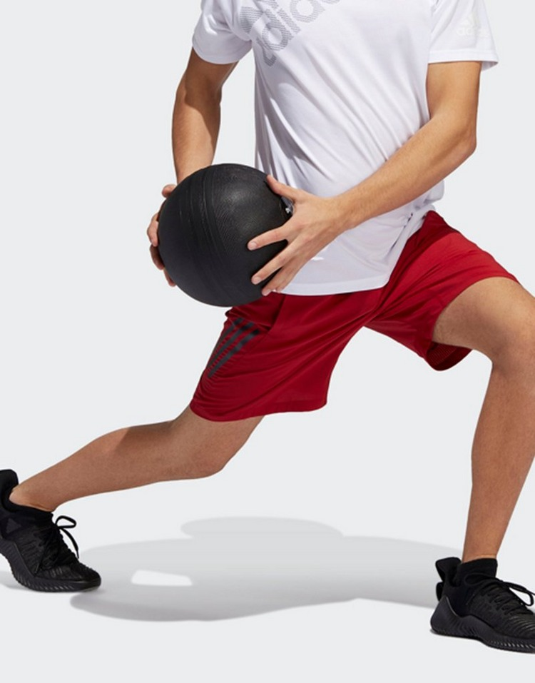 adidas 4krft tech woven 3-stripes shorts