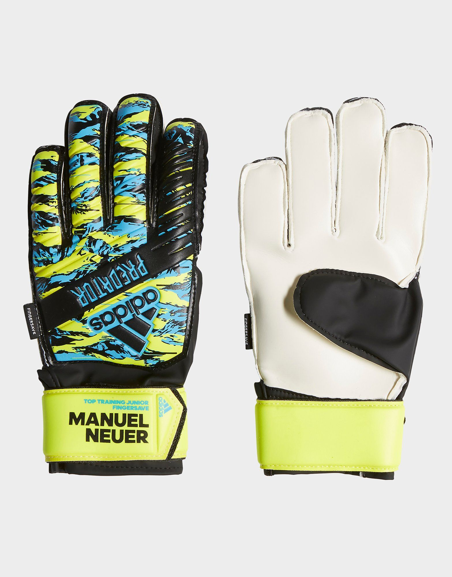 adidas Performance Predator Manuel Neuer Top Training Fingersave Goalkeeper Gloves | JD Sports