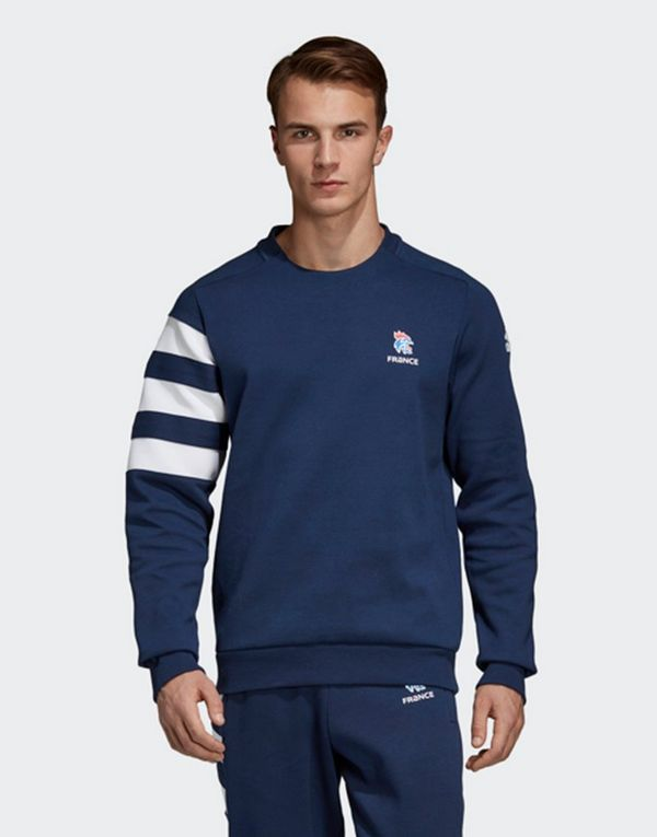 79aa82565 ADIDAS French Handball Federation Sweatshirt