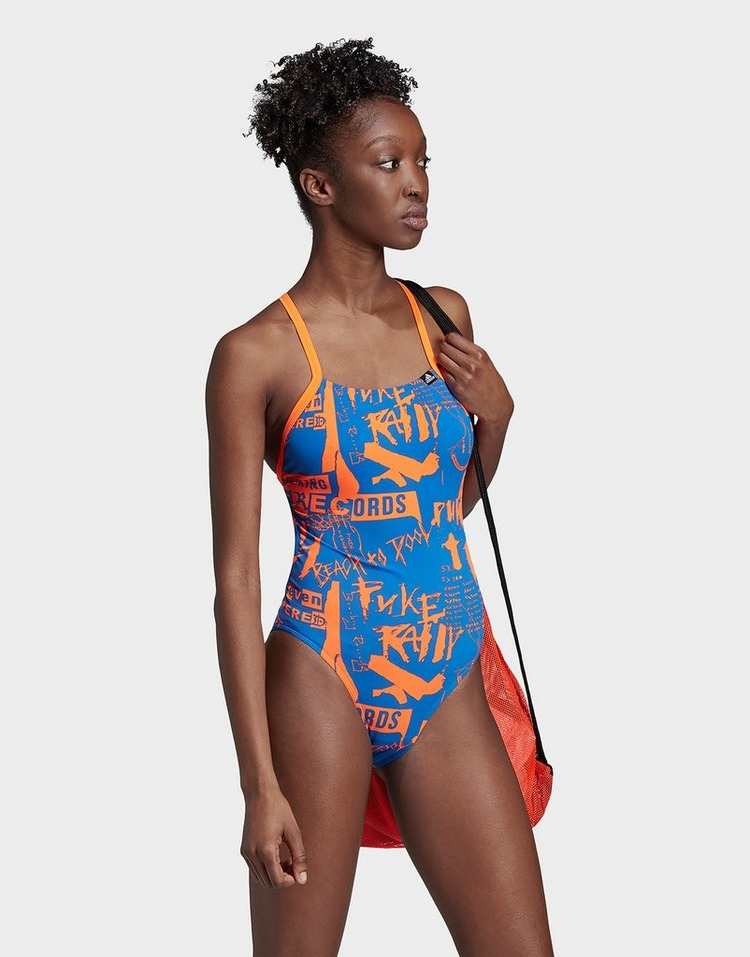 adidas Performance Allover Print Pro Swimsuit
