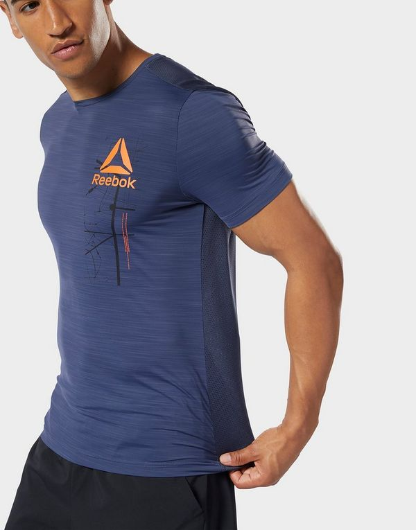 c9a51dc153 REEBOK Workout Ready ACTIVCHILL Graphic Tee