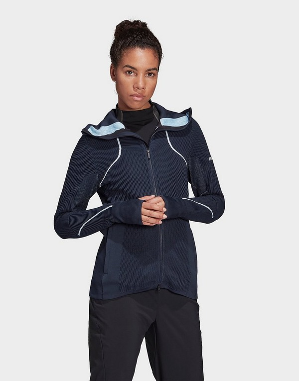adidas Performance Terrex Primeknit Mid-Layer Hooded Jacket