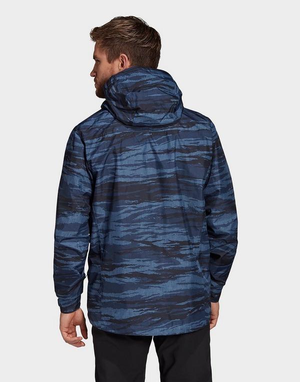 adidas Performance Terrex Camo Rain Jacket
