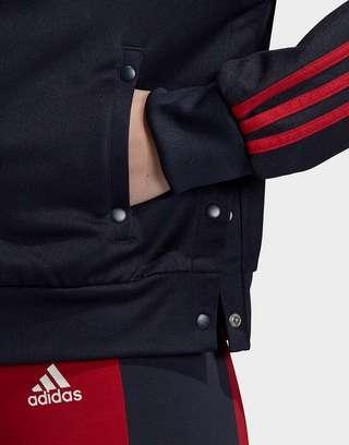 adidas Athletics ID 3-Stripes Snap Track Top