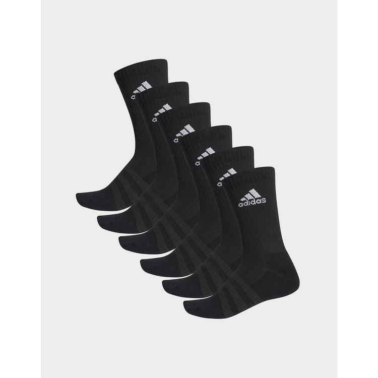 adidas Performance Cushioned Crew Socks 6 Pairs
