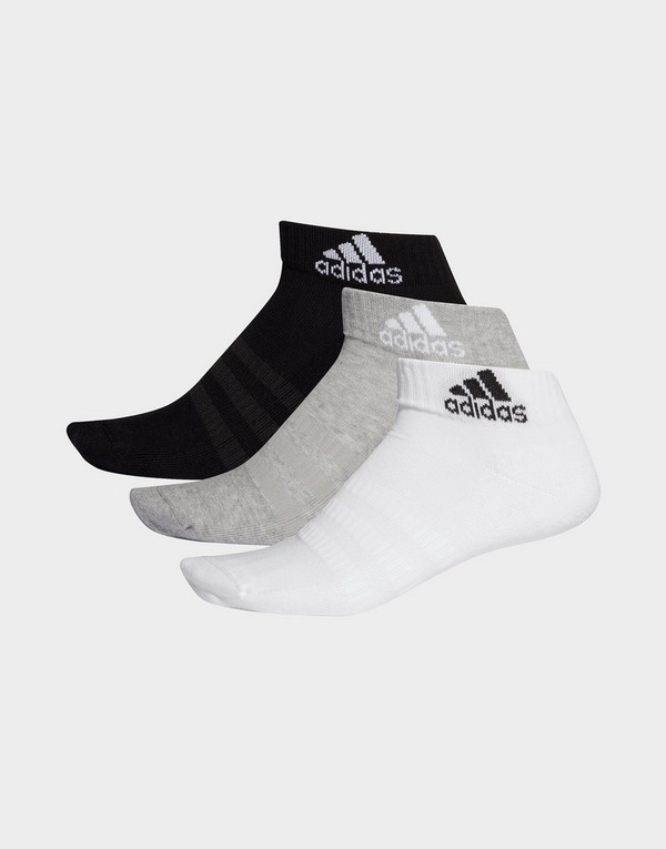adidas Performance Cushioned Ankle Socks 3 Pairs