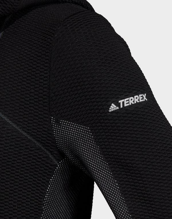 adidas Performance Terrex Primeknit Mid-Layer Hooded Jacket