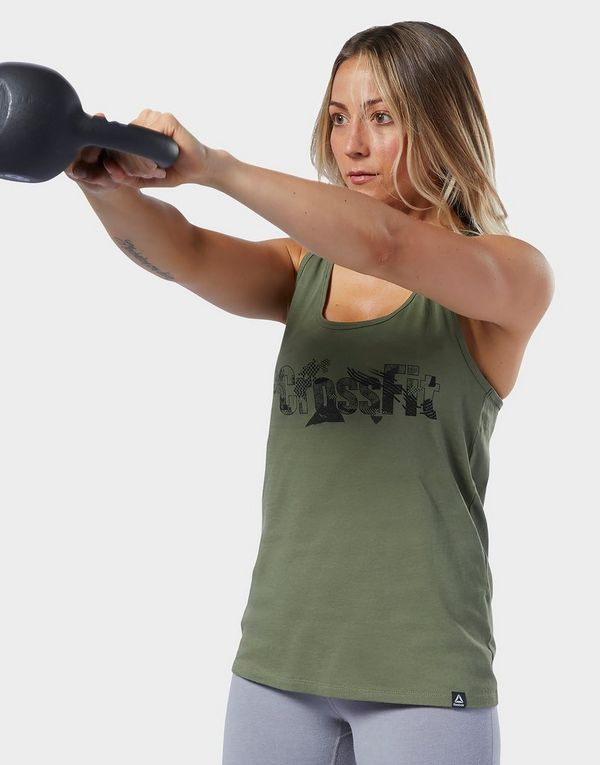 Reebok CrossFit® Print Fill Logo Tank Top