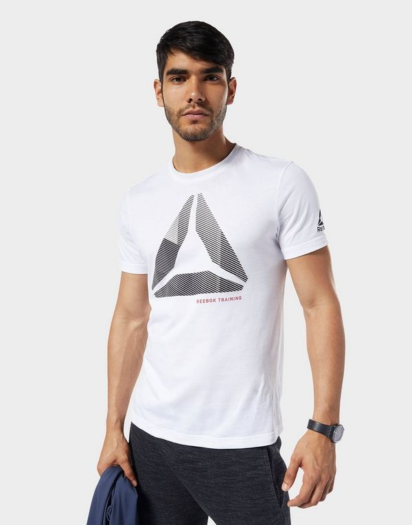 d76bb1683f REEBOK Graphic Series One Series Training Shift Blur Tee