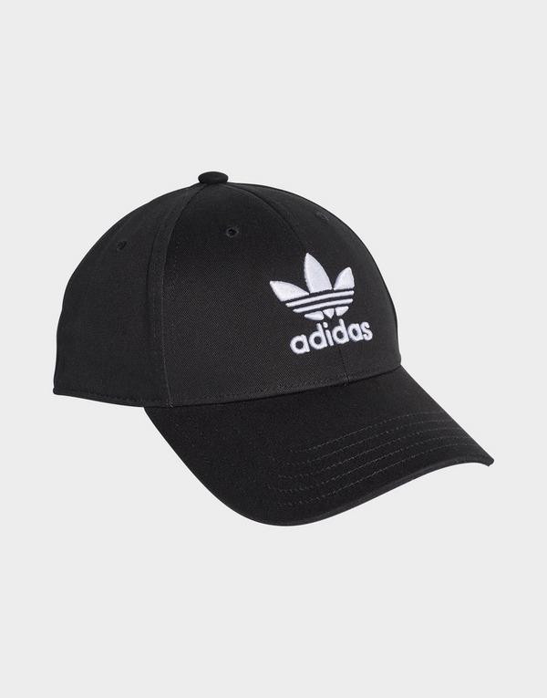 Black adidas Originals Trefoil Baseball Cap   JD Sports