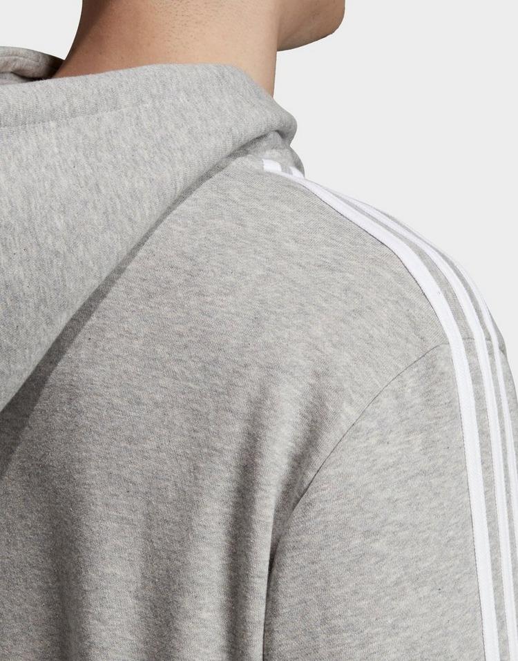 Acheter Grey adidas Originals sweat shirt à capuche 3 stripes
