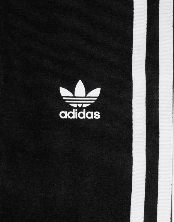 Buy Black adidas Originals 3 Stripe Trefoil Leggings Junior