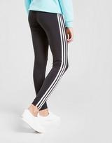 adidas Originals Girls' 3-Stripes Leggings Junior เล้กกิ้งเด็กผู้หญิง