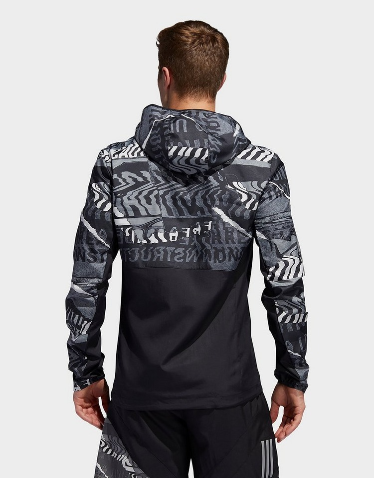 Buy adidas Performance Own The Run Graphic Jacket | JD Sports
