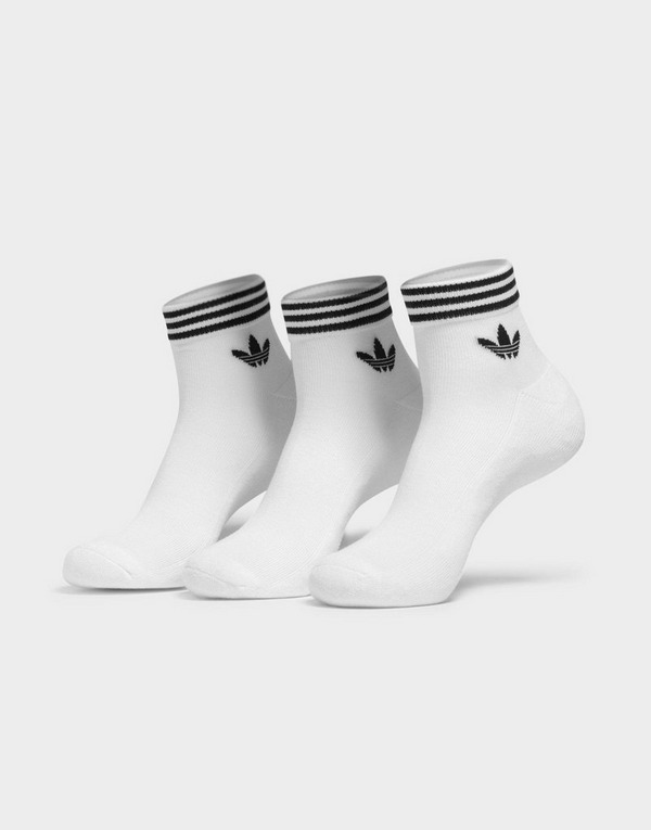 adidas Originals Trefoil Ankle Socks 3 Pairs